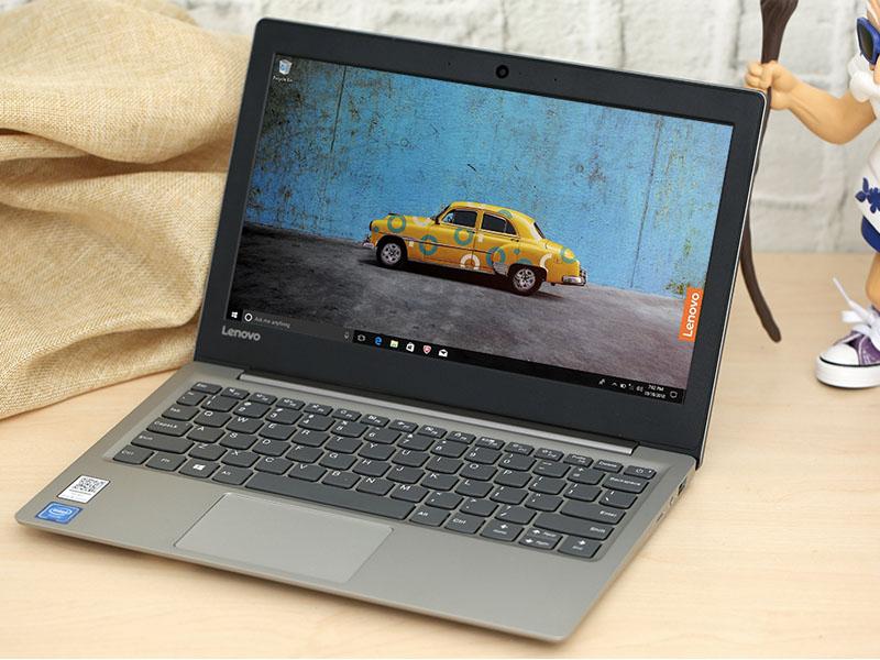 Thiết kế đơn giản trên Laptop Lenovo Ideapad S130