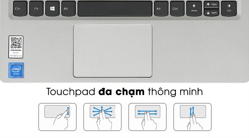 Touchpad đa chạm trên Laptop Lenovo Ideapad S130 11IGM