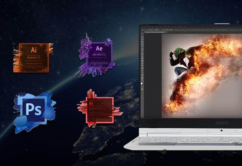 Hiệu năng mạnh mẽ trên Laptop MSI Prestige PS42