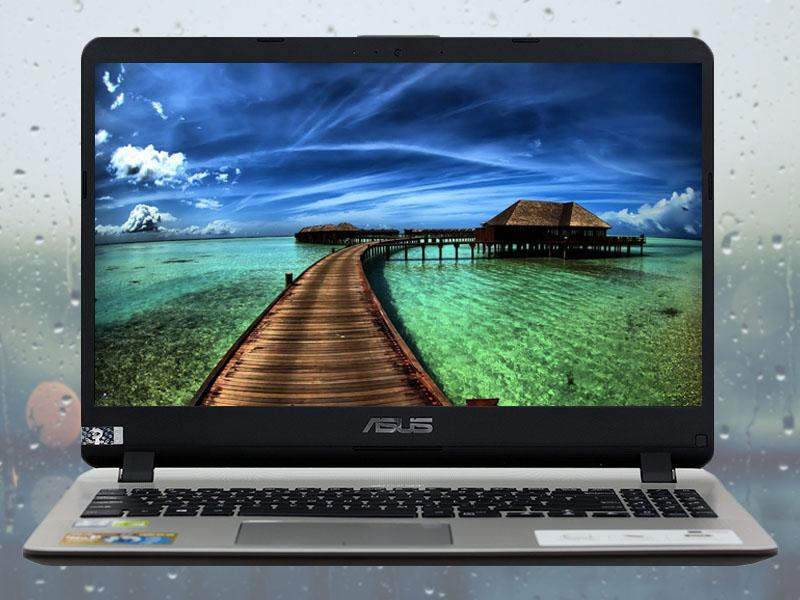 Màn hình to rõ, tươi sáng trên Laptop Asus VivoBook X507UF i3 8130U (BR203T)