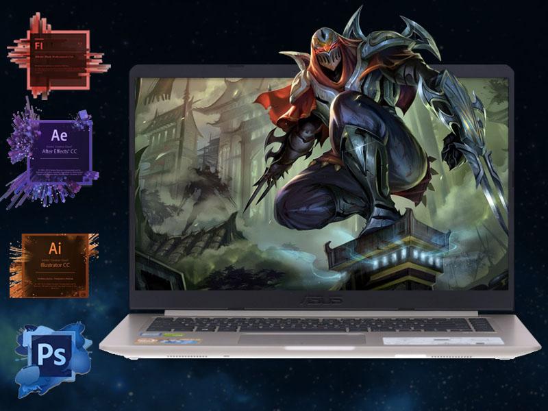 Hiệu năng cao trong phân khúc trên Laptop Asus core i5 VivoBook S510UN