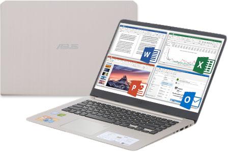 Laptop Asus VivoBook S510UN i5 8250U/4GB/1TB/2GB MX150/Win10 (BQ276T)