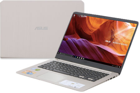 Laptop Asus VivoBook S510UN i5 8250U/4GB/1TB/ MX150/Win10/ (BQ276T)