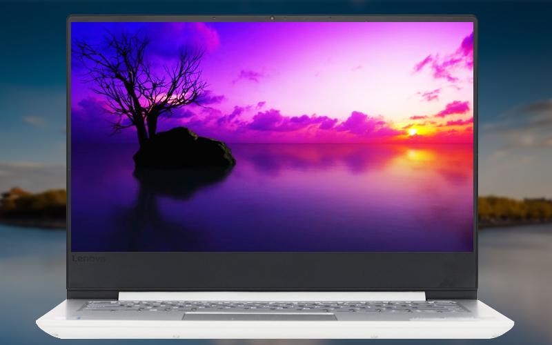 Màn hình sắc nét trên laptop Lenovo Ideapad 330S 14IKBR i5 (81F400NLVN)