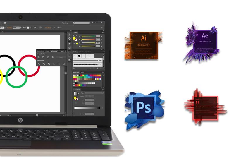 Cấu hình mạnh mẽ trong phân khúc trên Thiết kế hài hoà trên laptop văn phòng HP 15 da0443TX i3 (5SL06PA)