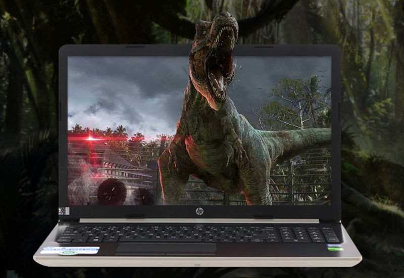 Màn hình tươi sáng, sắc nét trên laptop HP 15 da0443TX i3 (5SL06PA)