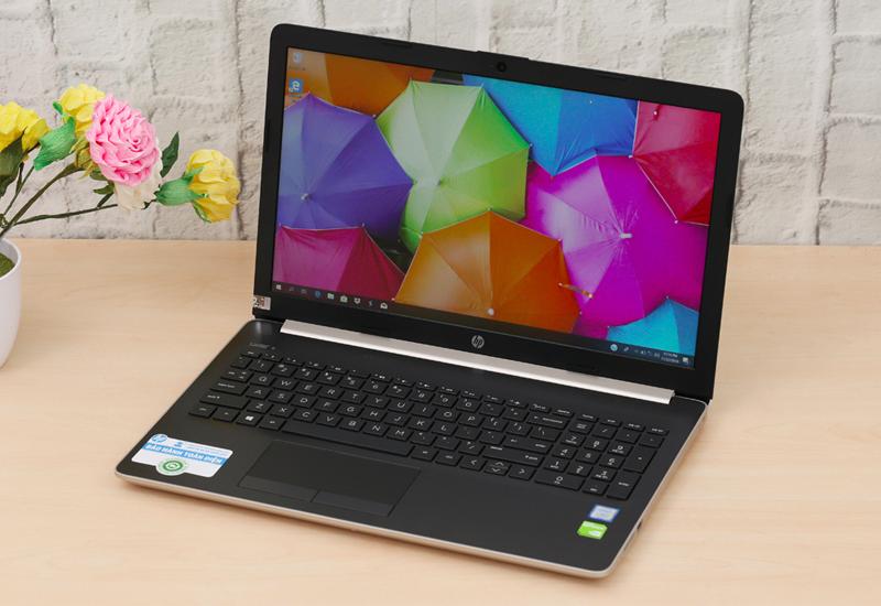 Thiết kế thanh lịch trên Laptop HP 15 da1033TX i7 (5NK26PA)