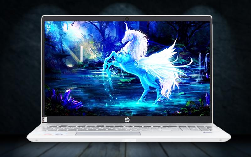 Màn hình sắc nét trên laptop văn phòng HP Pavilion 15 cs1009TU i5 (5JL43PA)