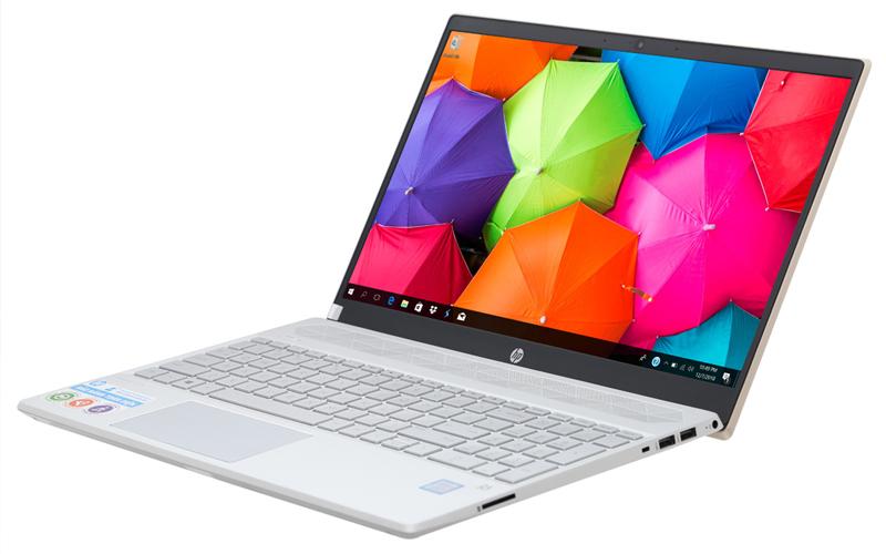 Thiết kế hài hoà trên laptop văn phòng HP Pavilion 15 cs1009TU i5 (5JL43PA)