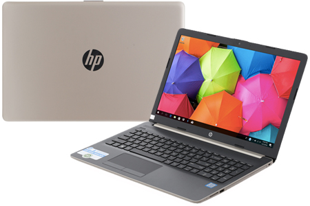 Laptop HP 15 da1023TU i5 8265U/4GB/1TB/Win10/(5NK81PA)