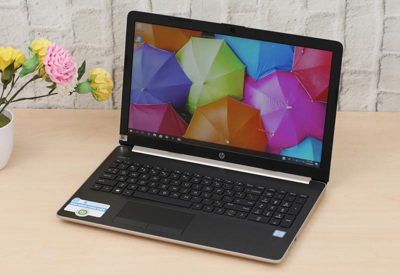 Thiết kế thanh lịch trên Laptop văn phòng HP 15 da1023TU (5NK81PA)