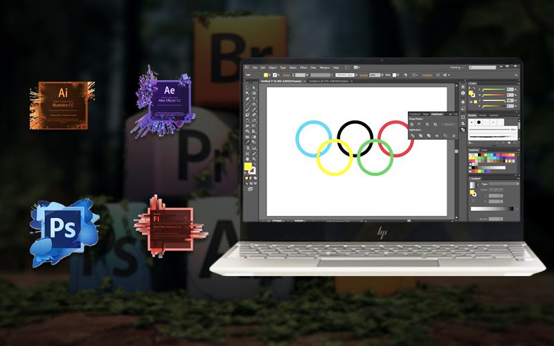 Cấu hình mạnh mẽ trên laptop doanh nhân HP Envy 13 ah1011TU (5HZ28PA)