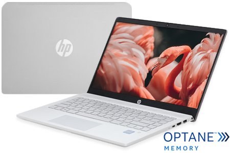 Laptop HP Pavilion 14 ce1018TU i5 8265U/4GB+16GB/1TB/Win10 (5RL41PA)