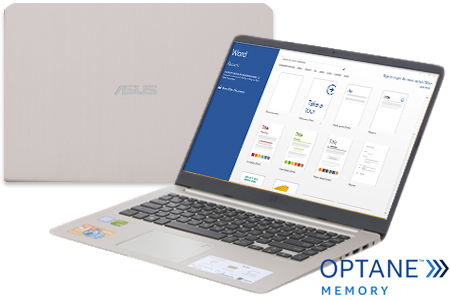 Laptop Asus VivoBook X407UA i5 8250U/4GB+16GB/1TB/Win10/(BV485T)