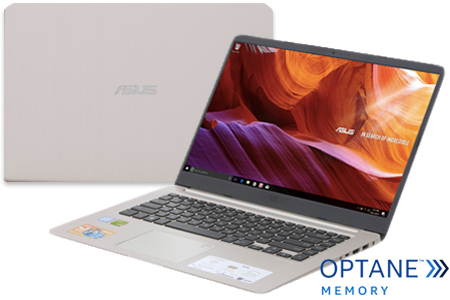 Laptop Asus X407UA i5 8250U/4GB+16GB/1TB/Win10/(BV485T)