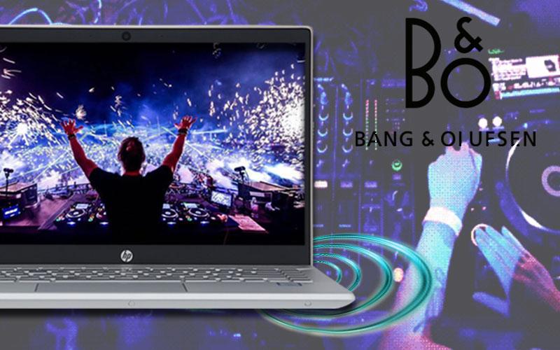 Âm thanh sống động trên Âm thanh sống động trên laptop đồ hoạ kĩ thuật HP Pavilion 15 cs1044TX (95JL26PA)