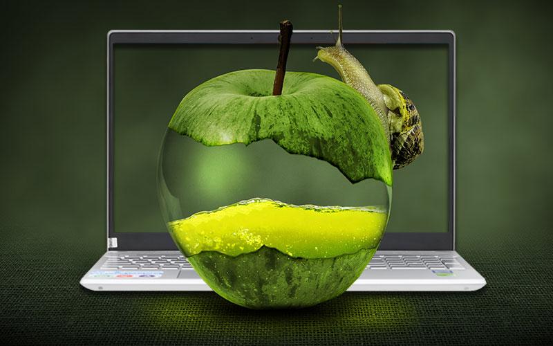 Màn hình tươi sáng, sắc nét trên Laptop đồ hoạ kĩ thuật HP Pavilion 15 cs1044TX (95JL26PA)