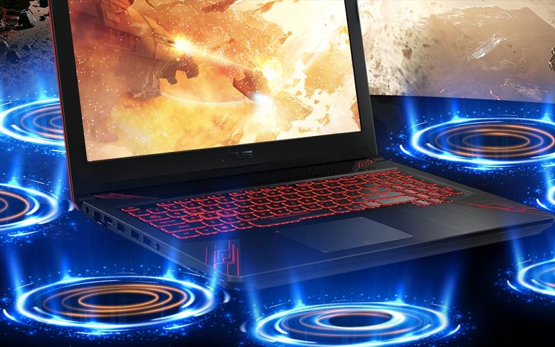 Âm thanh sống động trên laptop gaming Asus Core i5 FX504GE (E4138T)