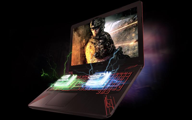 Cấu hình mạnh mẽ trên laptop gaming Asus Core i5 FX504GE (E4138T)