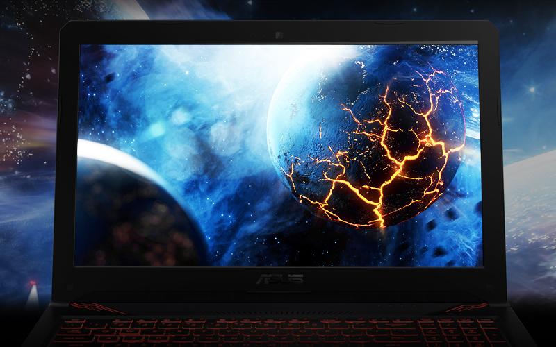Màn hình sắc nét trên laptop gaming Asus Core i5 FX504GE (E4138T)