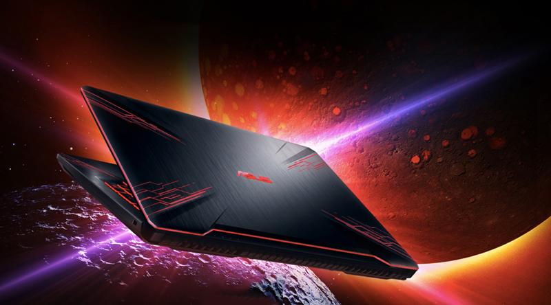 Thiết kế mạnh mẽ trên laptop gaming Asus core i5 FX504GE (E4138T)