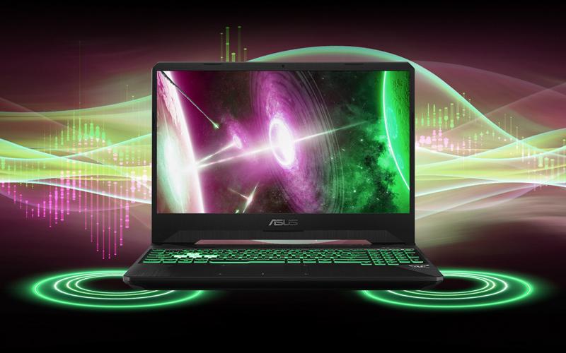 Âm thanh tuyệt đỉnh trên laptop gaming Asus FX505GE (BQ037T)