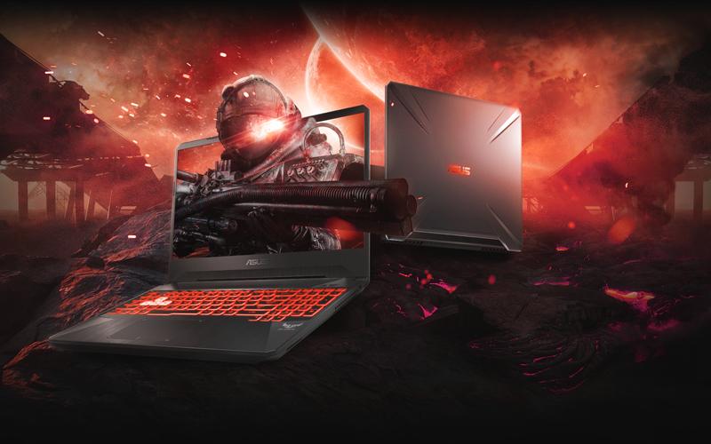 Màn hình sắc nét từng chi tiết trên laptop gaming Asus FX505GE (BQ037T)