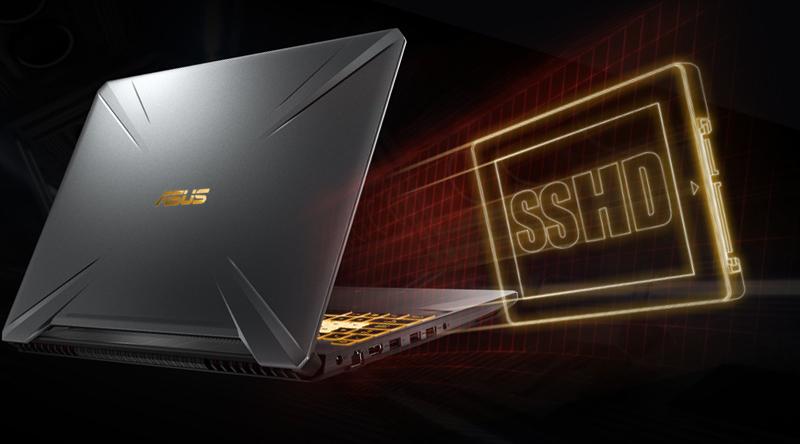 Ổ cứng SSD mạnh mẽ trên laptop gaming Asus FX505GE (BQ037T)