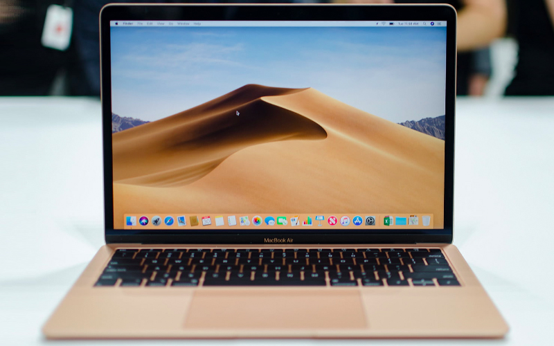 Thiết kế hiện đại, siêu nhẹ trên laptop nhỏ gọn macbook air 2018
