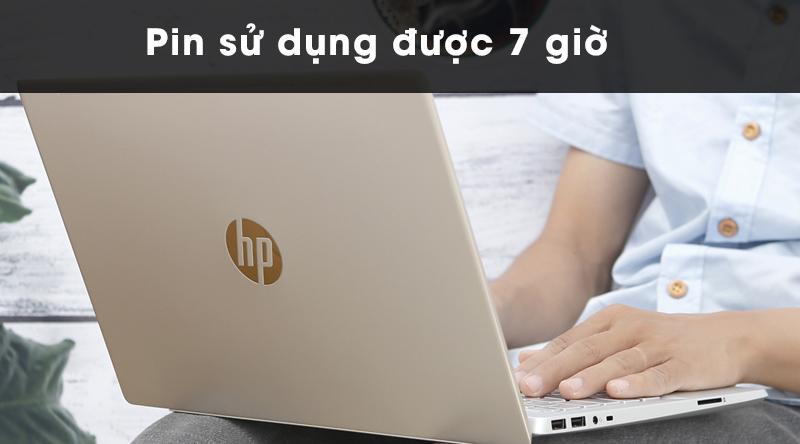 Laptop HP Pavilion 14ce1011tu có pin dùng được khoảng 7 giờ