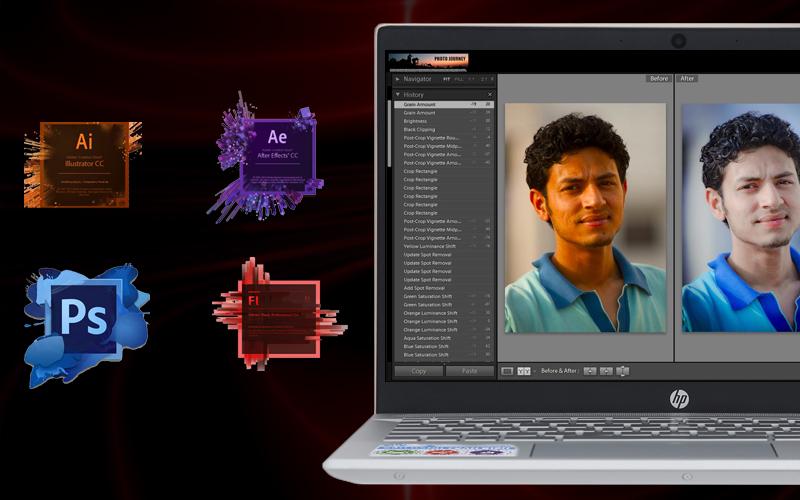 Hiệu năng ổ định trên laptop nhỏ gọn HP Pavilion 14 ce1011TU i3 (5JN17PA)