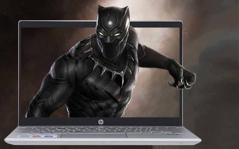 Màn hình sắc nét trên laptop nhỏ gọn HP Pavilion 14 ce1011TU i3 (5JN17PA)