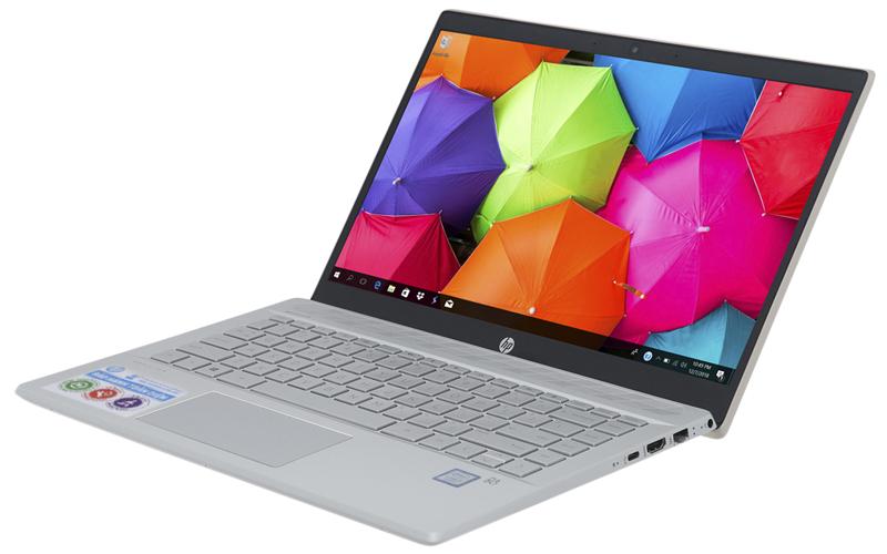 Thiết kết hài hoà trên laptop nhỏ gọn HP Pavilion 14 ce1011TU i3 (5JN17PA)