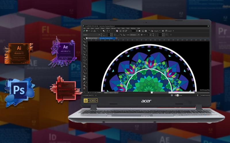 Cấu hình mạnh mẽ trên Laptop văn phòng Acer Aspire A515 53 3153 i3 (NX.H6BSV.005)