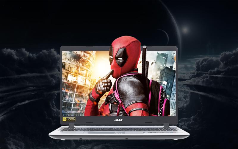 Màn hình sắc nét trên Laptop văn phòng Acer Aspire A515 53 3153 i3 (NX.H6BSV.005)
