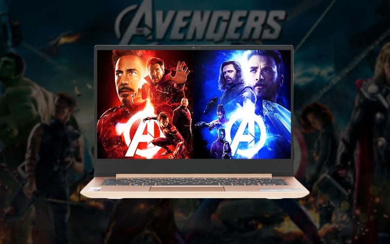 Màn hình siêu sắc nét trên laptop văn phòng Lenovo Ideapad 530S 14IKB (81EU00P5VN)