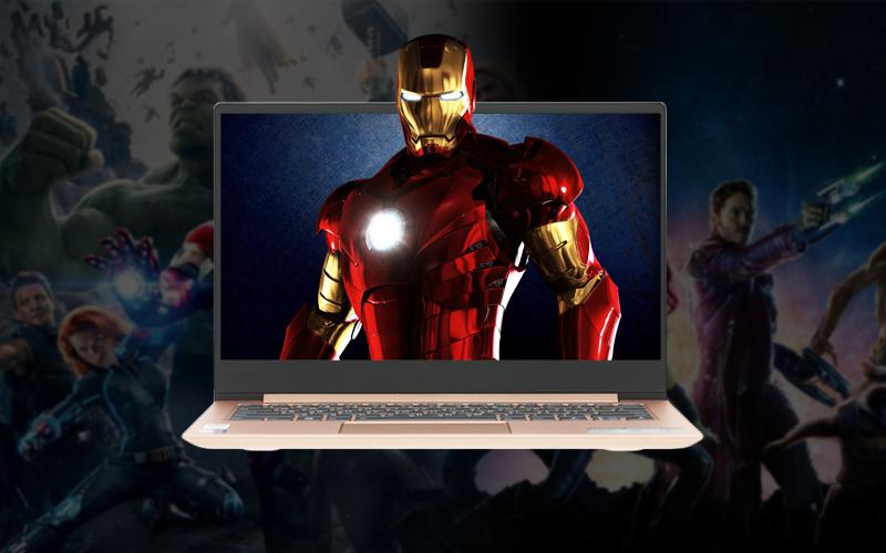 Màn hình siêu sắc nét trên Laptop văn phòng Lenovo Ideapad 530S 14IKB i7 (81EU00P5VN)
