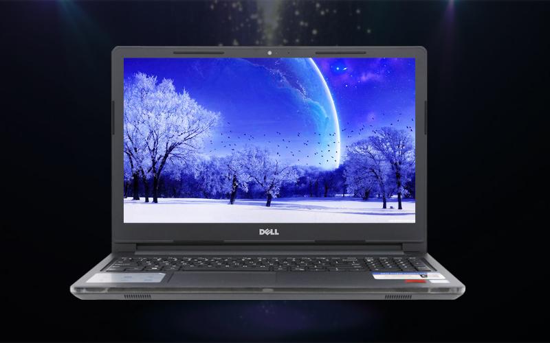Màn hình sắc nét trên laptop văn phòng Dell Inspiron 3576 i3 (C5I3133W)