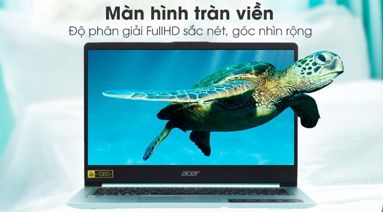 ACER Swift 1: Pentium N5000/4G/SSD 64G/14in FullHD/pin 17h, còn BH 2th - 2