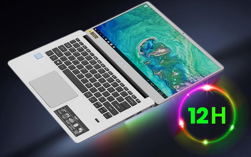 Acer Swift SF314 54 38J3 thời lượng pin trâu 12 giờ