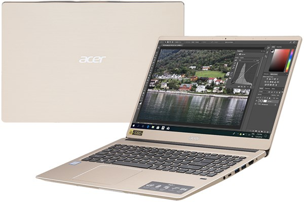 Laptop Acer Swift 3 SF315 52 50T9 i5 8250U/8GB/256GB/Win10 (NX.GZBSV.002)