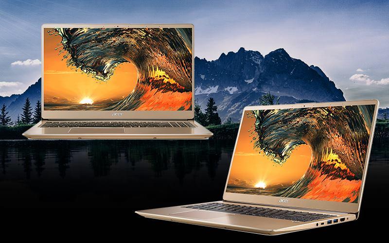 Tổng thể thiết kế Acer Swift SF315 52 50T9 i5