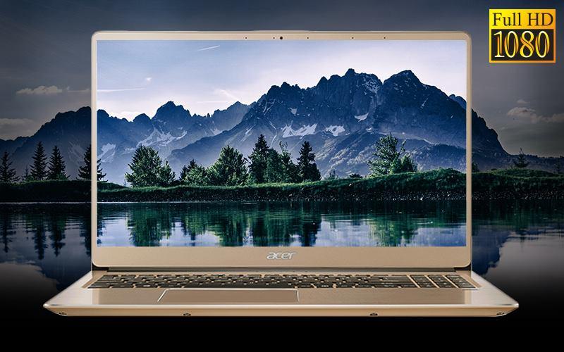 Màn hình Laptop Acer Swift SF315 52 50T9 i5 sắc nét