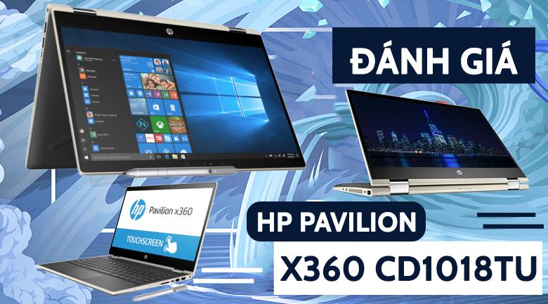 HP Pavilion x360 cd1018TU i3 8145U (5HV88PA)