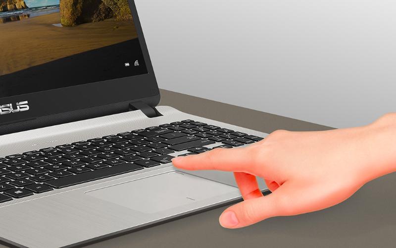 Cảm biến vân tay một chạm của Máy tính xách tay  Asus X507MA (BR318T)