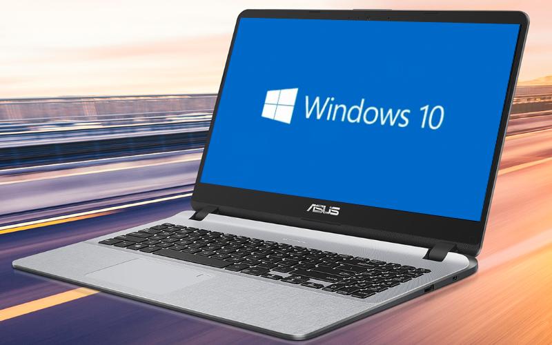 Chạy windows bản quyền Máy tính xách tay  Asus X507MA (BR318T)