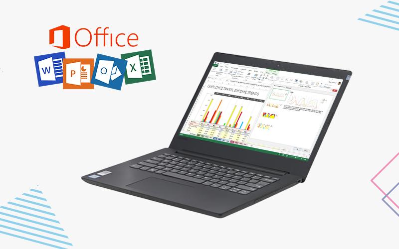 máy tính xách tay Lenovo Ideapad 130 14IKB i3 7020U/4GB/1TB (81H60016VN) có cấu hình văn phòng, học sinh, sinh viên