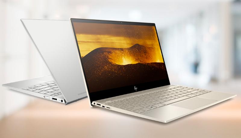 Thiết kế của laptop HP Envy 13 ah1012TU
