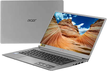 Laptop Acer Swift 5 SF5 i5 8265U/8GB/256GB/Win10 (NX.H7KSV.001)