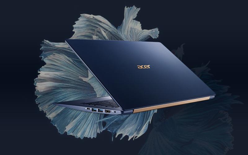 Laptop Acer Swift 5 Air Edition i7 có thiết kế đẹp